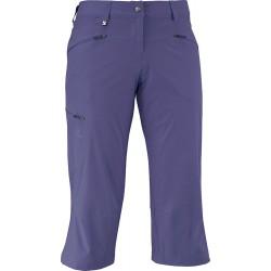 Salomon Wayfarer Capri W a. grey-x 363405 dámské lehké softshellové tříčtvrteční kalhoty