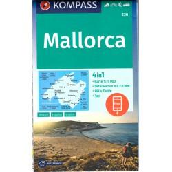 Kompass 230 Mallorca 1:75 000