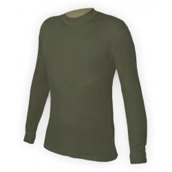 Jitex BoCo Ibes 701 TES tmavě khaki unisex triko dlouhý rukáv