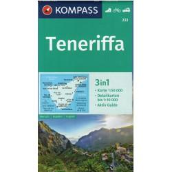 Kompass 233 Teneriffa 1:50 000