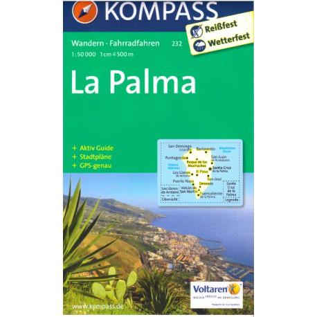 Kompass 232 La Palma 1:50 000
