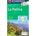Kompass 232 La Palma 1:50 000 turistická mapa