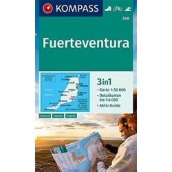 Kompass 240 Fuerteventura 1:50 000