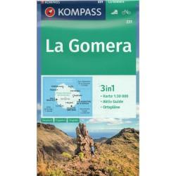 Kompass 231 La Gomera 1:30 000