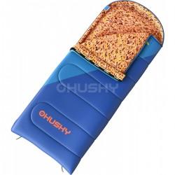 Husky Kids Milen -5°C modrá dětský třísezónní dekový spací pytel Invista Hollowfibre 4
