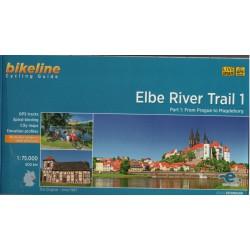 Bikeline Elbe River Trail 1/Labská cyklostezka 1 1:75 000 cykloprůvodce
