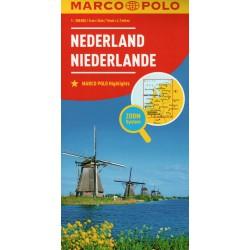 Marco Polo Nizozemsko 1:300 000 automapa
