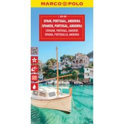 Marco Polo Španělsko, Portugalsko 1:800 000 automapa