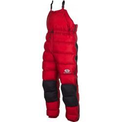 Sir Joseph Rak červená unisex nepromokavé zimní péřové kalhoty Exel Dry Light 100