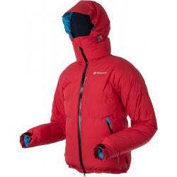 Sir Joseph Spire červená unisex nepromokavá zimní péřová bunda Exel Dry Stream