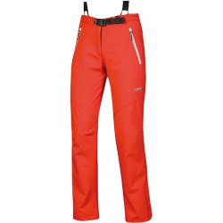 Direct Alpine Sissi red dámské softshellové kalhoty SoftShell 4way Tex