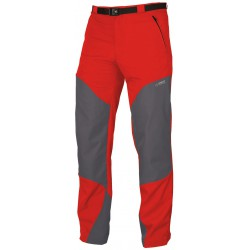 Direct Alpine Patrol 4.0 red/grey pánské turistické kalhoty