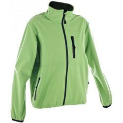 Alpisport Alma zelená/černá dětská softshellová bunda Rivertex Softshell 20 000 mm