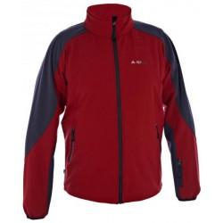Alpisport Spirit červená pánská nepromokavá softshellová bunda Rivertex Softshell