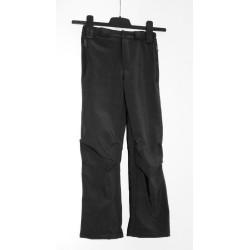 Alpisport Peak Junior černá dětské nepromokavé softshellové kalhoty 20 000 mm