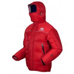 Sir Joseph 8000 II Jacket červená unisex nepromokavá zimní péřová bunda Exel Dry Light 100