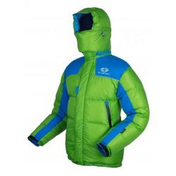 Sir Joseph 8000 II Jacket zelená unisex nepromokavá péřová bunda Exel Dry® Light 100