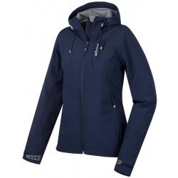 Husky Andrea černá dámská softshellová bunda Extend-Plus Softshell 10000