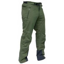 Pinguin Alpin S Pants khaki unisex nepromokavé kalhoty A.C.D. membrane 2L