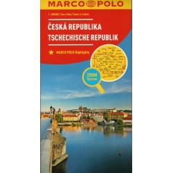 Marco Polo Česká republika 1:300 000 automapa