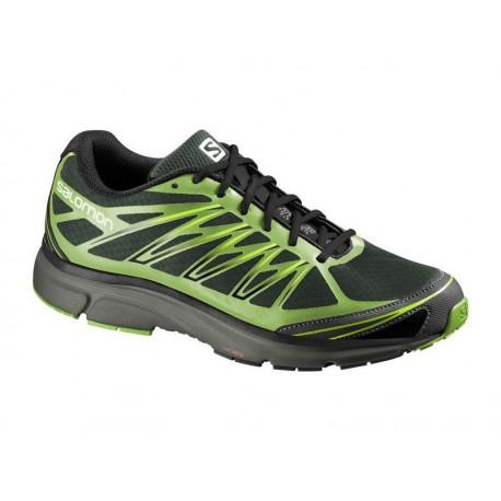 Salomon X-Tour 2 bettle green/black 373246 pánské prodyšné běžecké boty