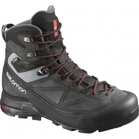 aed1dfa977b Salomon X Alp MTN GTX black asphalt 373283 pánské nepromokavé trekové boty  Cordura