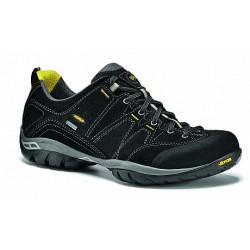 Asolo Agent GV GTX black pánské nízké nepromokavé kožené boty