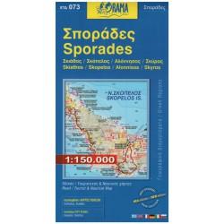 ORAMA 073 Sporades/Sporady 1:150 000 automapa