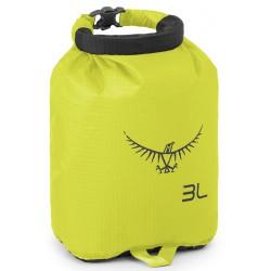 Osprey Ultralight Dry Sack 3 electric lime vodotěsný obal//loďák