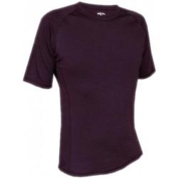 Jitex BoCo Kamad 902 TES tmavě fialová pánské triko krátký rukáv Merino vlna