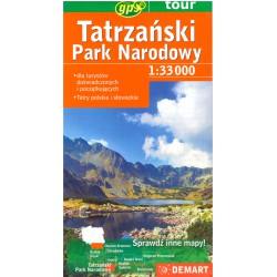 DEMART Tatrzański Park Narodowy 1:33 000