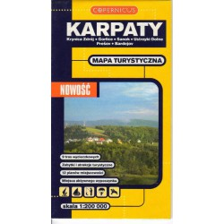 Copernicus Karpaty východ 1:200 000 automapa