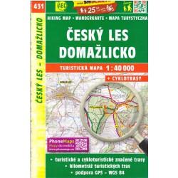 SHOCart 431 Český les, Domažlicko 1:40 000