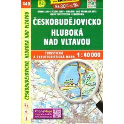 SHOCart 440 Českobudějovicko, Hluboká nad Vltavou  1:40 000