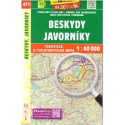 SHOCart 471 Beskydy, Javorníky  1:40 000