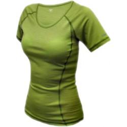 Jitex Kamada 801 TSS světle zelená dámské triko krátký rukáv Merino vlna
