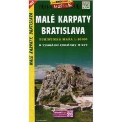 SHOCart 1078 Malé Karpaty, Bratislava 1:50 000