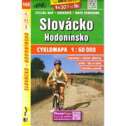 SHOCart 169 Slovácko, Hodonínsko 1:60 000