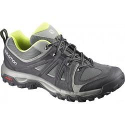 Salomon Evasion Aero asphalt/gecko green 376885 pánské nízké prodyšné boty