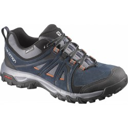 Salomon Evasion GTX deep blue/bee-x 376907 pánské nízké nepromokavé boty (5)