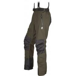High Point Teton 3.0 Pants dark khaki pánské nepromokavé kalhoty BlocVent 2L DWR