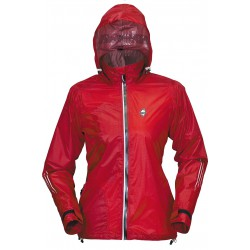 High Point Road Runner 2.0 Lady Jacket red dámská nepromokavá bunda BlocVent 2,5L
