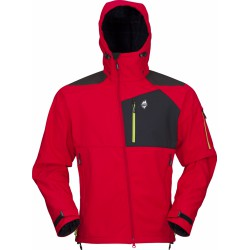 High Point Stratos Hoody red pánská softshellová bunda Mechanical Softshell BlocVent 3L