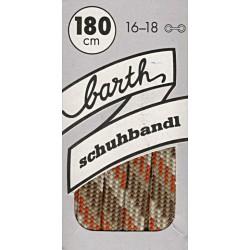 Barth Bergsport půlkulaté/180 cm/barva 291 tkaničky do bot