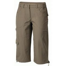 Progress Sagarmatha 3Q khaki dámské tříčtvrteční kalhoty
