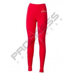 Progress Eco E SDNZ červená/oranžová dámské spodky dlouhá nohavice bambus