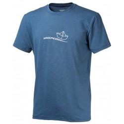 Progress Barbar modrá pánské triko krátký rukáv bambus (1)