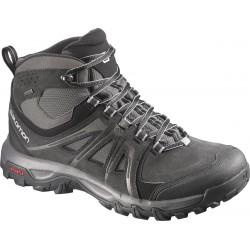 Salomon Evasion Mid GTX black/autobahn/pewter 376909 pánské trekové nepromokavé boty