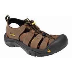 Keen Newport M bison pánské kožené outdoorové sandály