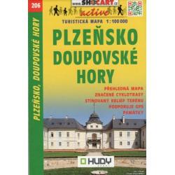 SHOCart 206 Plzeňsko, Doupovské hory 1:100 000
